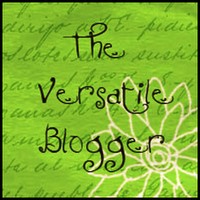 The Versatile Blogger Award.